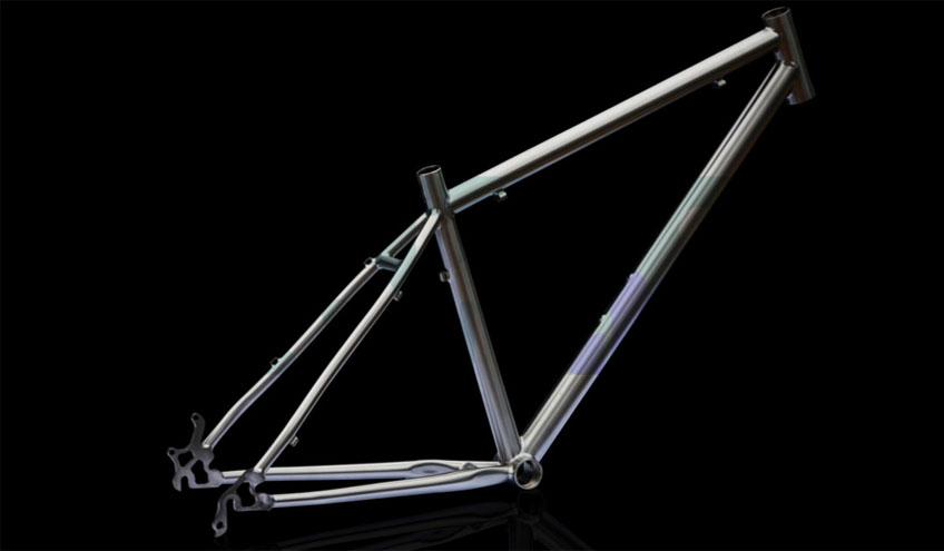 Bicycle frames and components